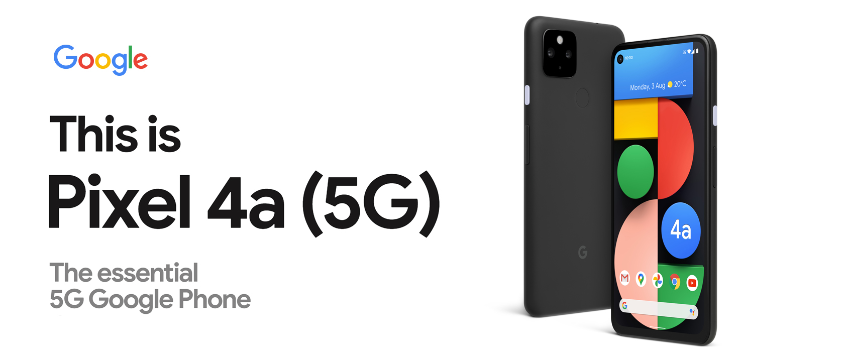 This is Pixel 4a