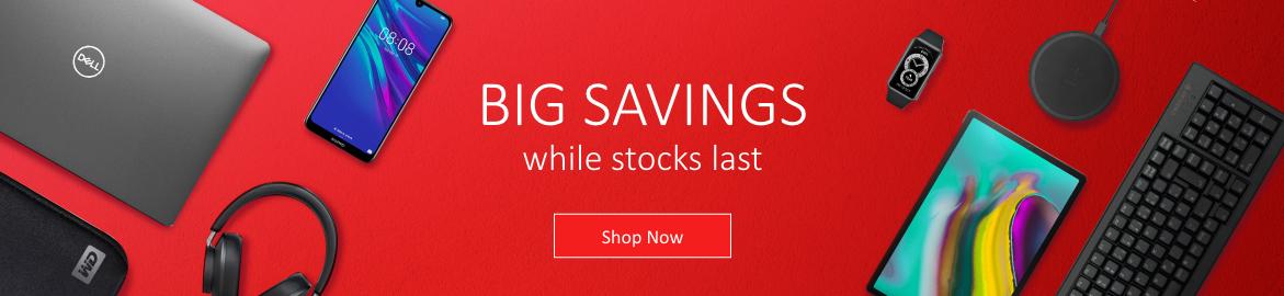 Big Savings Banner