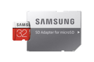 Flash Card 32GB Evo Plus Micro-SD w/a