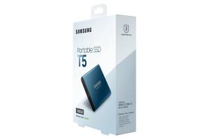 SSD Ext 500GB T5 Blue USB3.1 Gen2 USB-C
