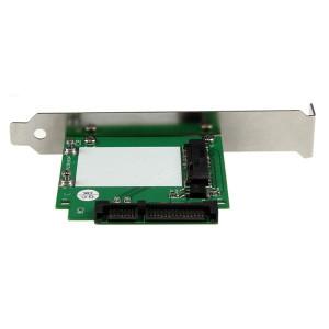 SATA- mSATA SSD Adptr w/Full & LP Brkts
