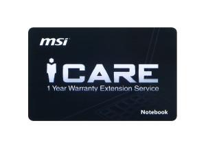 EU1-1Y Extension warranty card