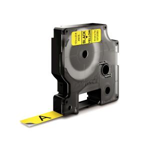 D1 Tape 12mm Black on Yellow