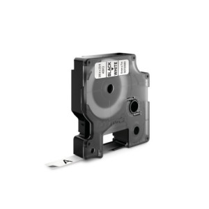 D1 Tape 9mm Black on White