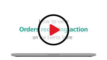 Manage Orders Requiring Action