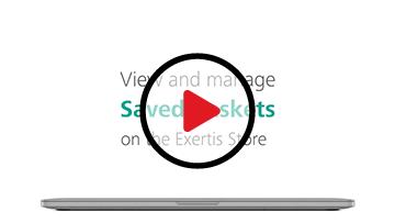 Manage Saved Baskets